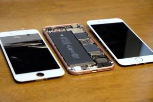 【修理】iPhone6sのディスプレイを自分で分解して交換する方法