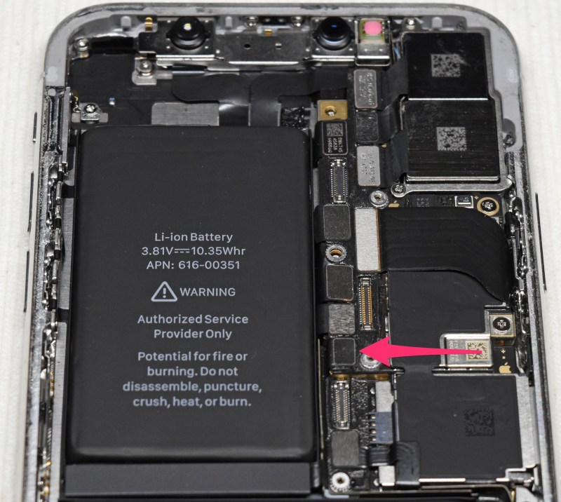 Iphone x battery exchange 2 2