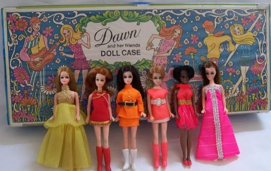 If You Were A Little Girl Growing Up In The 1970s Chances Are Very High That Played With Dawn Doll I Found This Photo On Pinterest And Was Wacked