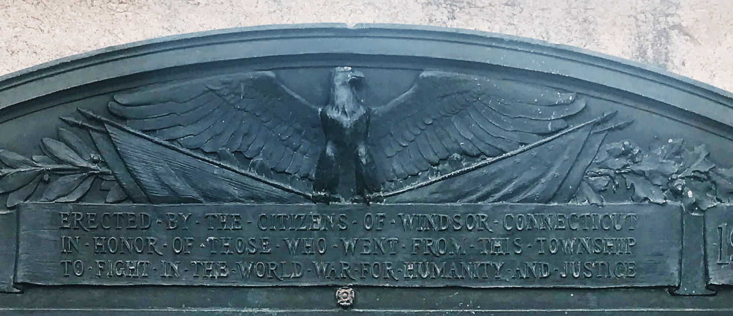 Windsor Connecticut World War I – Roll of Honor Memorial