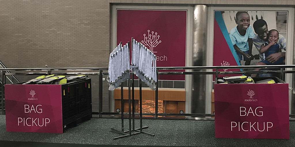 Checking in at #RootsTech has never been easier