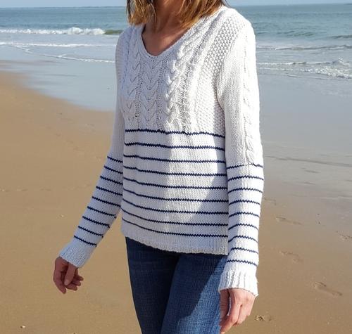 modele de mariniere au tricot
