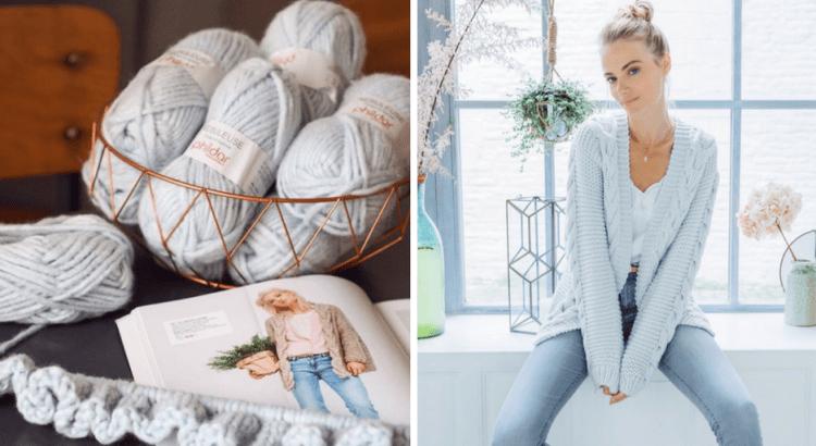 gilets oversize faciles à tricoter