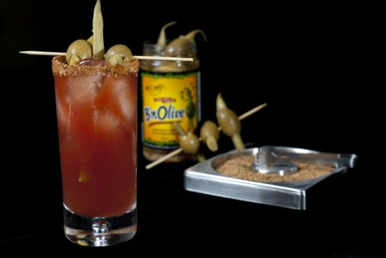 Caesar BnOlive Rimmer and Drink
