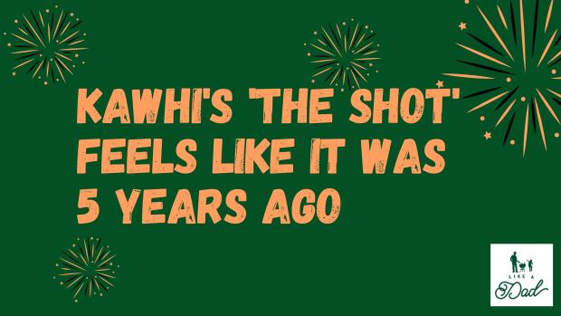 Kawhi's shot