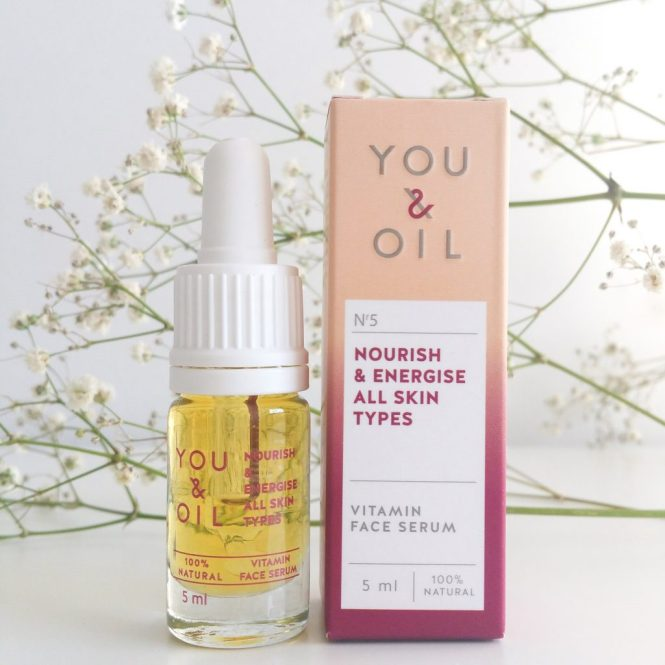 Nuoo Box février 2018 YOU & OIL – Sérum vitamine nourish & energise