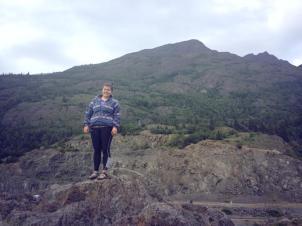 Exploring at Beluga Point    Anchorage, AK    July 2014
