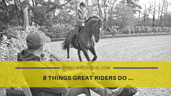 8 Things Great Riders Do …