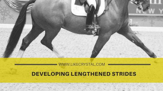 Developing Lengthened Strides