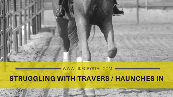 Struggling with Travers / Haunches In