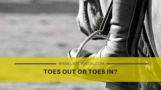 Toes Out or Toes In?