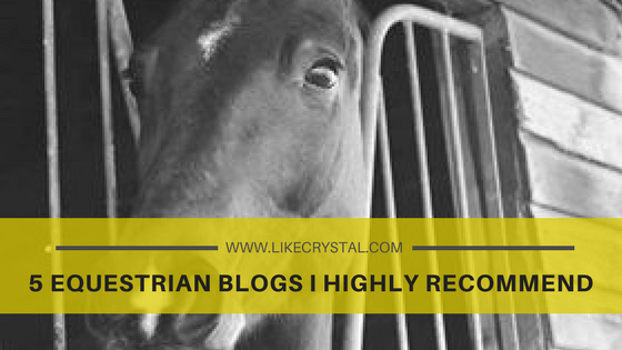 5 Equestrian Blogs I Highly Recommend