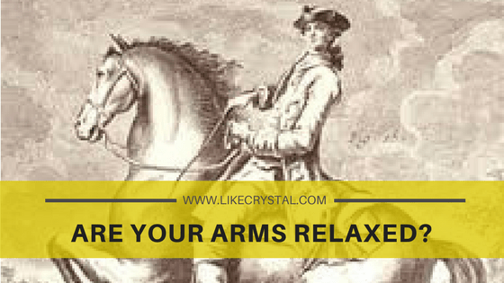 Q10 – Are your arms relaxed?