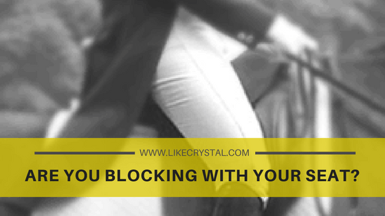 Q7 – Are You Blocking With Your Seat?