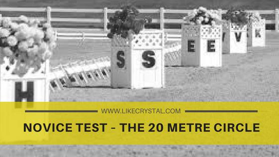 Novice Test – The 20 Metre Circle
