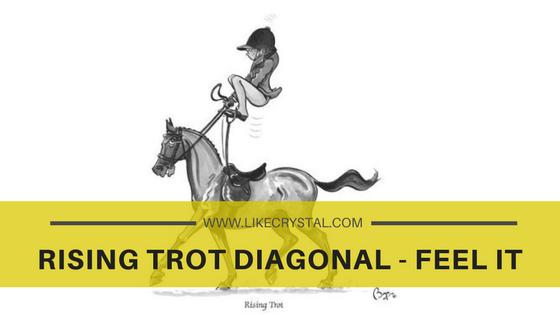 Rising Trot Diagonal – Feel It