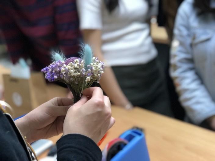 乾燥花束教學台北