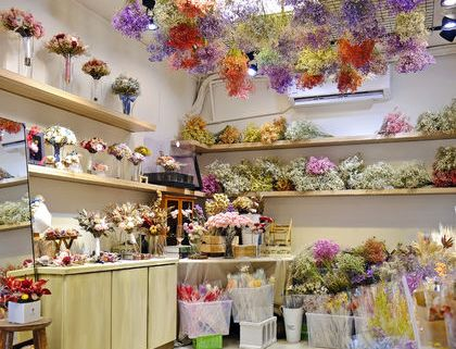 喜歡生活乾燥花店,門市照片