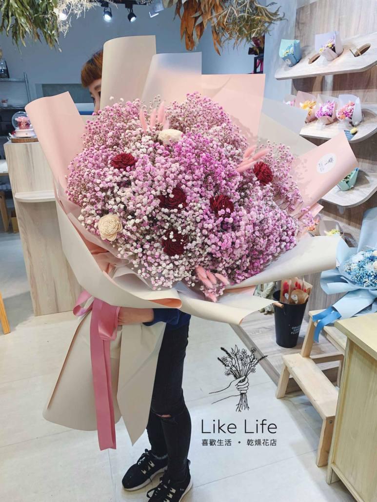 巨大花束推薦,台北巨大花束,巨型花束