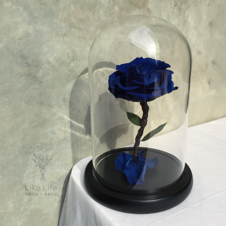 永生花玻璃罩意境