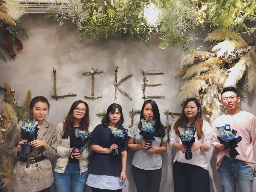 乾燥花課程推薦,台北學習花藝,乾燥花教學
