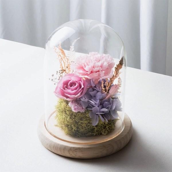 母親節粉色永生花康乃馨封面-台北喜歡生活乾燥花店