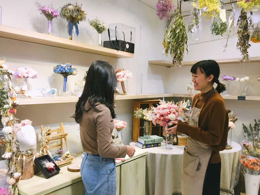 代客送花送台北-台北代客送花推薦喜歡生活乾燥花