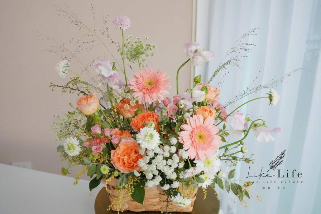 鮮花教學,花藝教學,鮮花教學