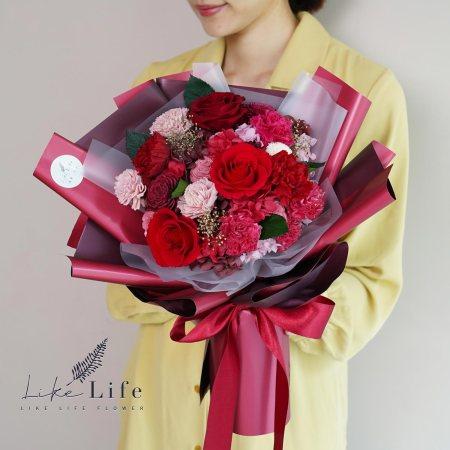 母親節康乃馨花束紅色康乃馨花束