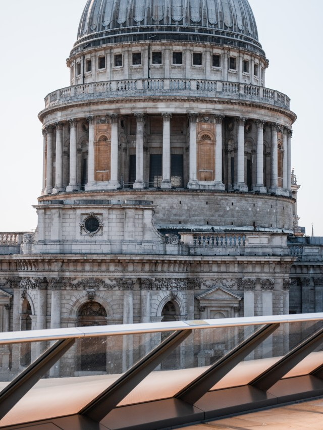 St Pauls Cathedral View From Rooftop-Bar