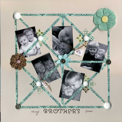 {Im Back} new scrapbook layouts