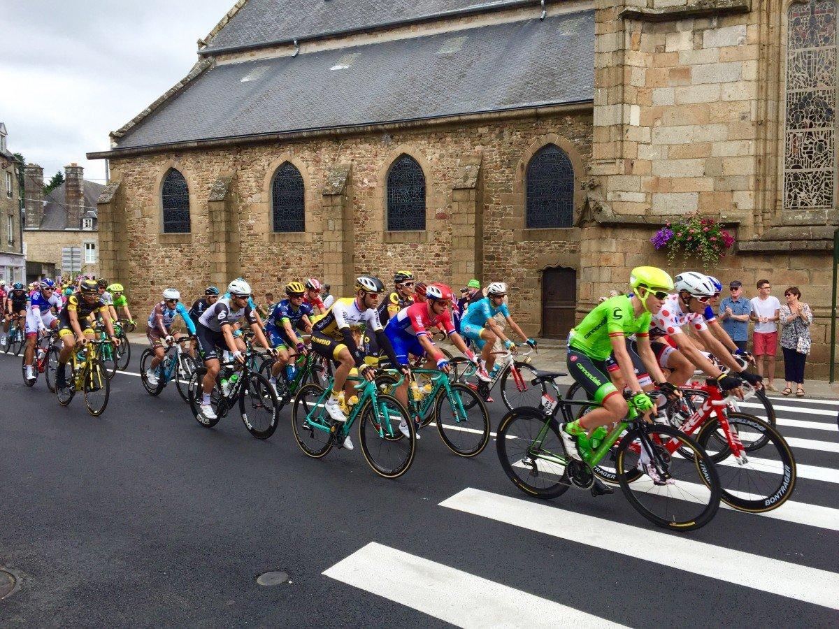 villedieu de poles le tour de France
