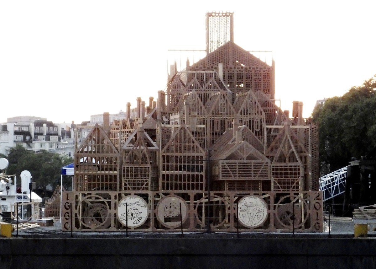 reconstruction 350th great fire of london