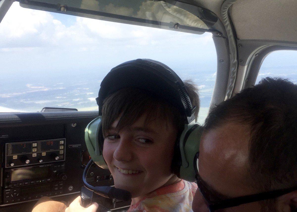flight over orlando