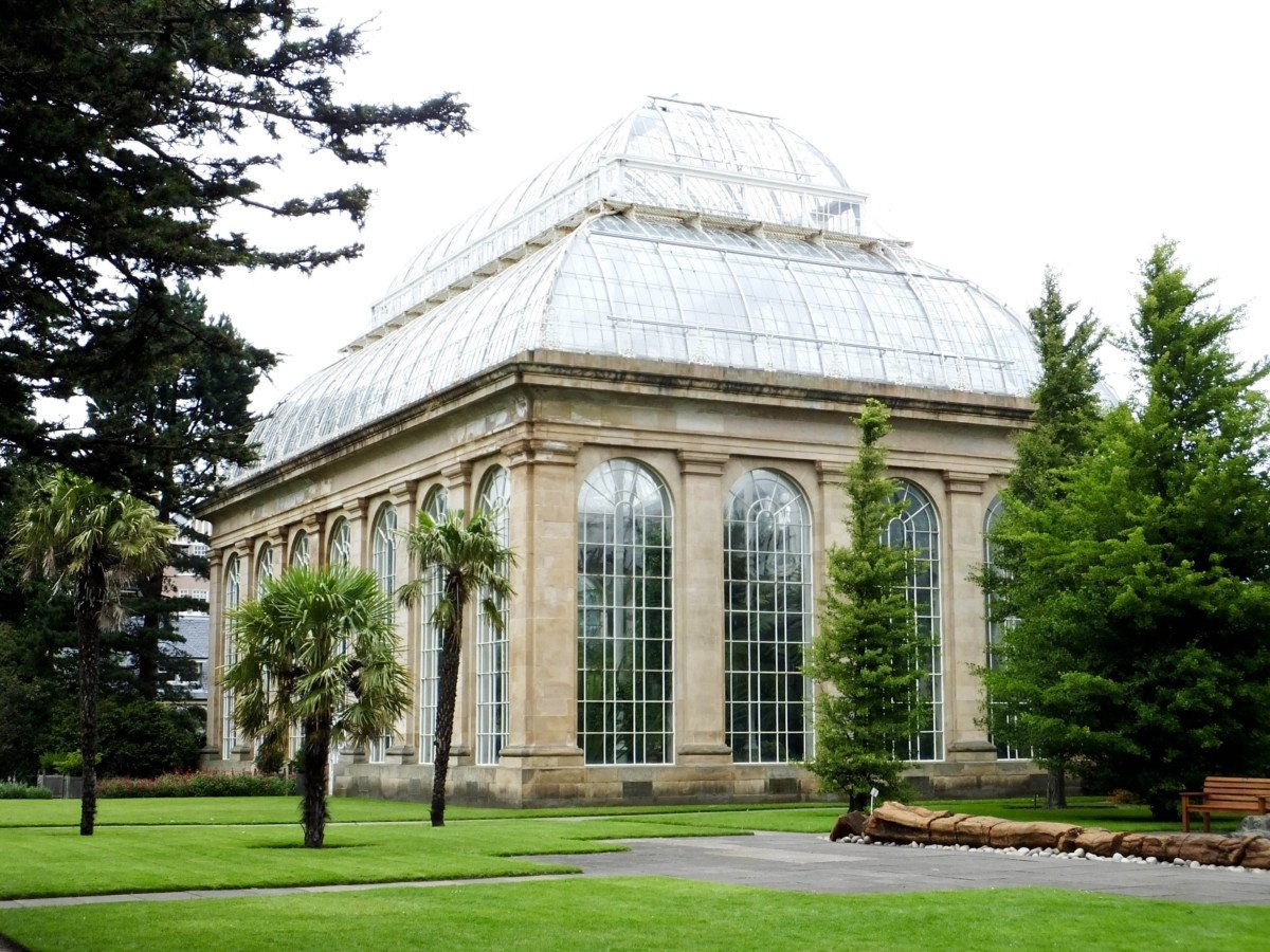 edinburgh glass houses