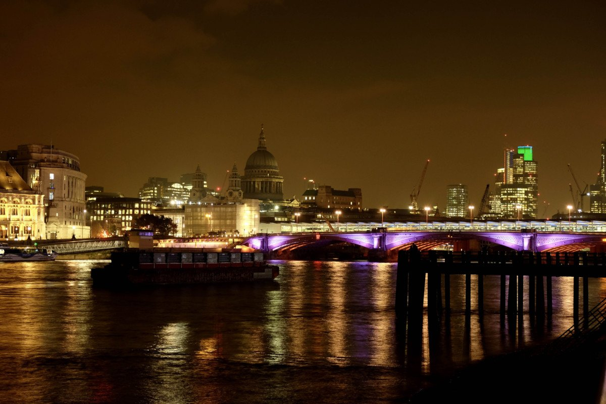 thames view form the oxo tower.
