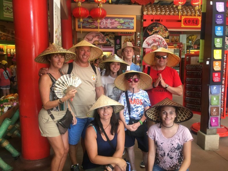 Epcot Hats Around the World, China Tips.