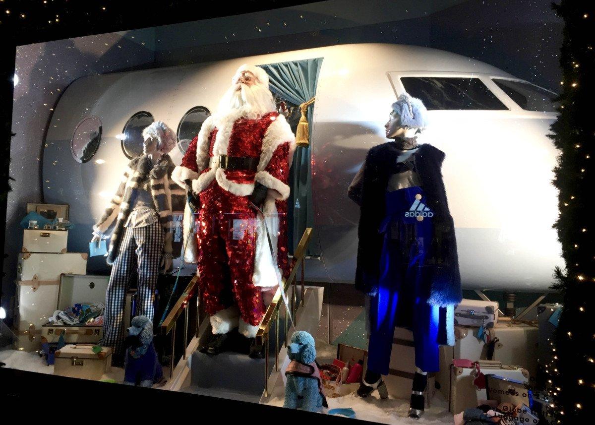 Selfridges Oxford Street Christmas Windows 2016