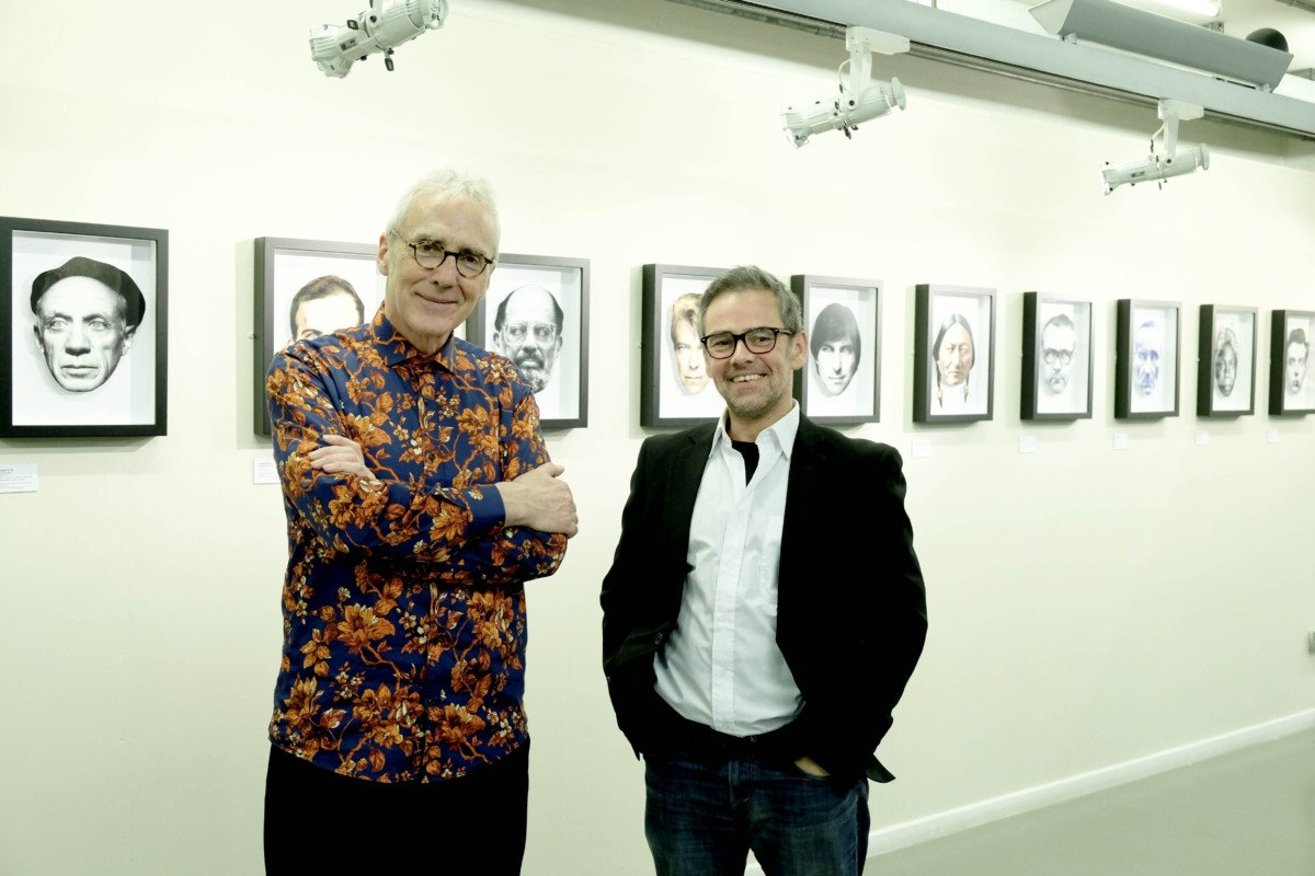Exhibit A Heroes and Villains, an Exhibition by Hugh Tisdale and Dan Murrell