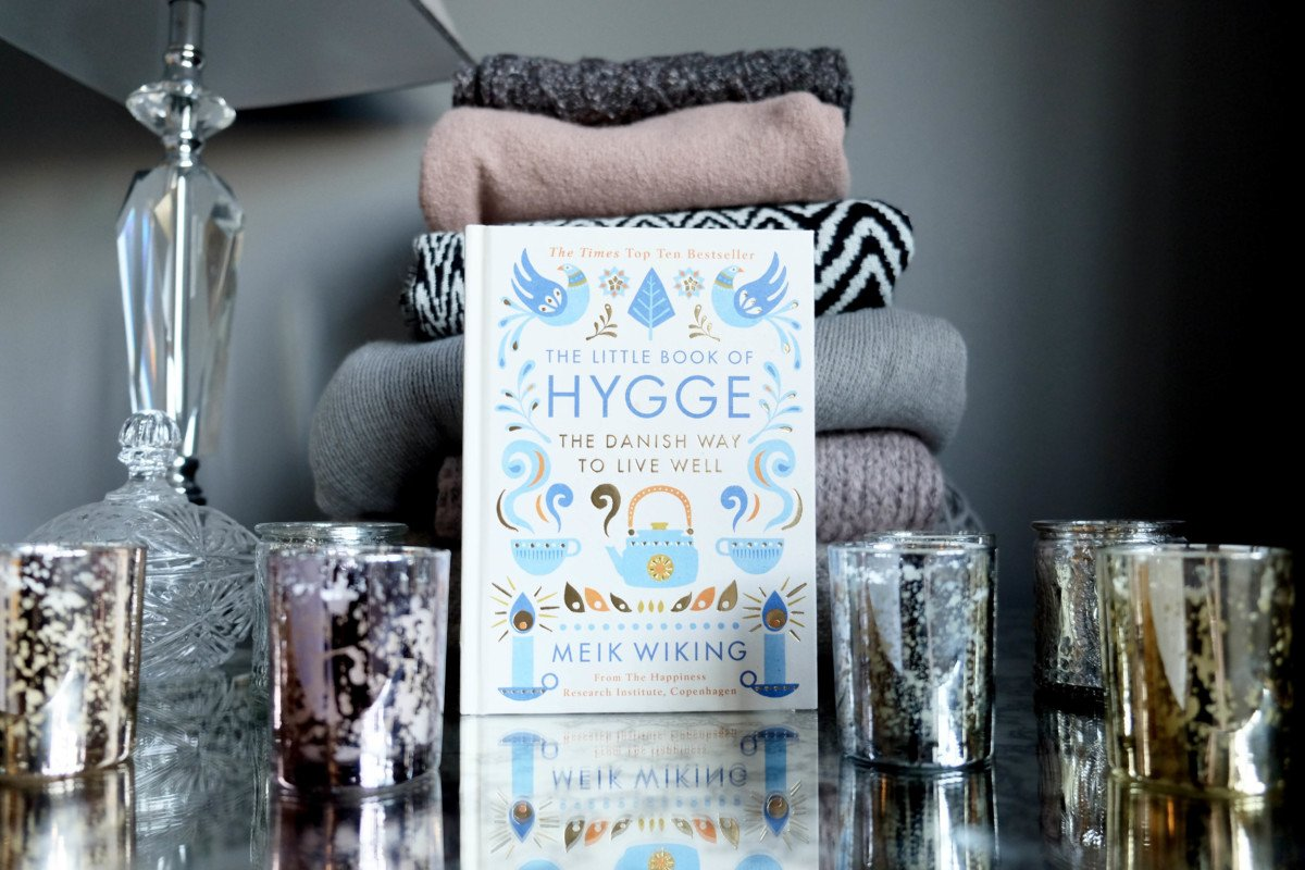 The Hygge Experiment cosy socks hygge book and candles