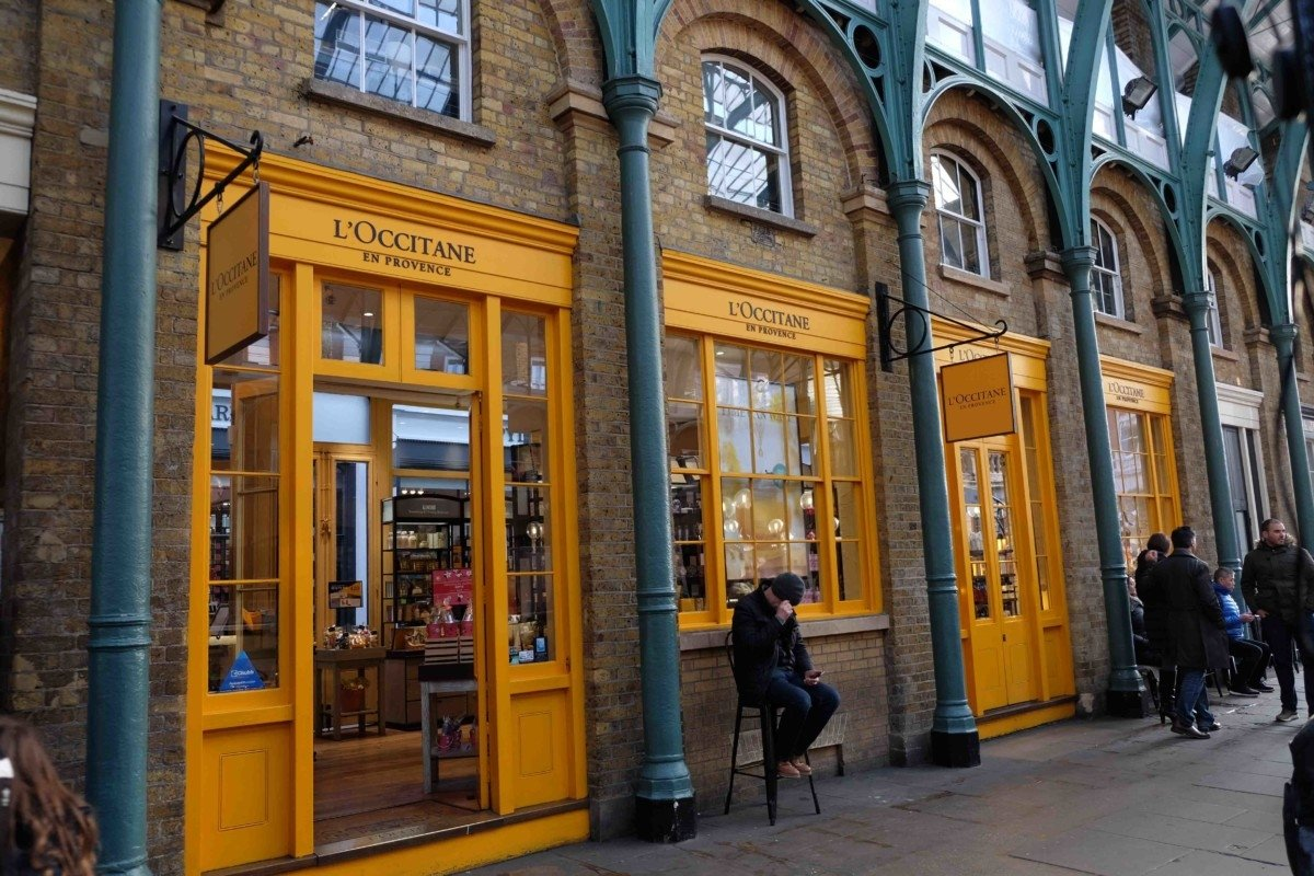 L'Occitane store  Covent Garden is the Heart of Beauty Shops in London ?