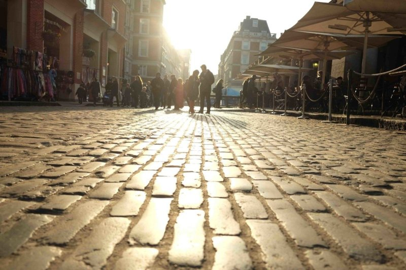 My Sunday Photo, Covent Garden Winter Sun and Change
