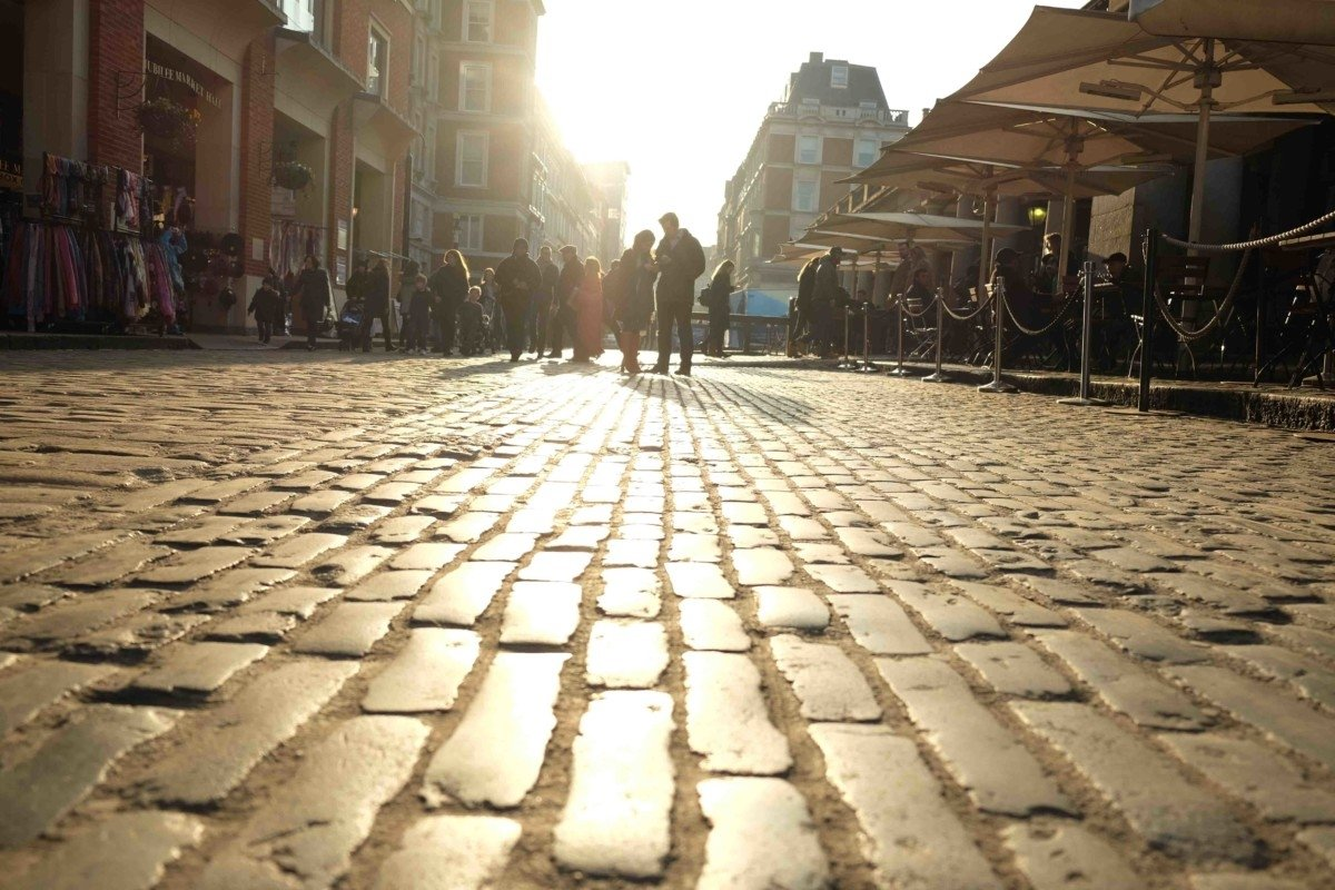 My Photo Sunday Photo, Covent Garden Winter Sun and Change
