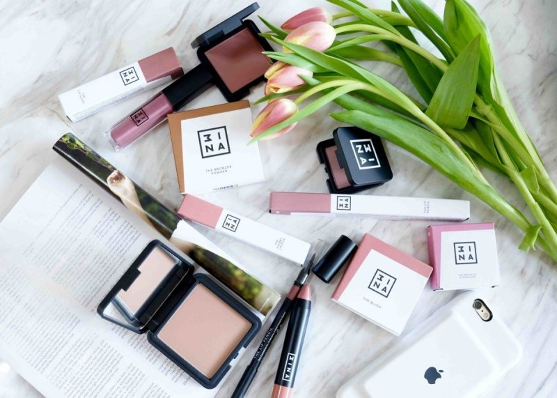 My Latest New Beauty Buys from the Exciting Makeup Brand Mina.(3ina)
