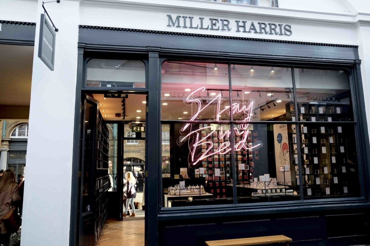 Miller harris store  Covent Garden is the Heart of Beauty Shops in London ?