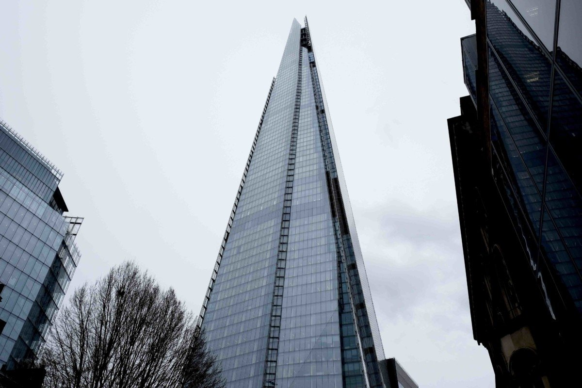 The View From The Shard the shard from below