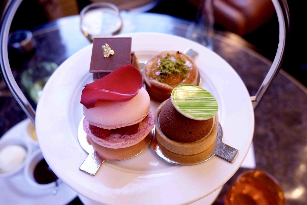 Champagne afternoon tea at The Balcon desserts