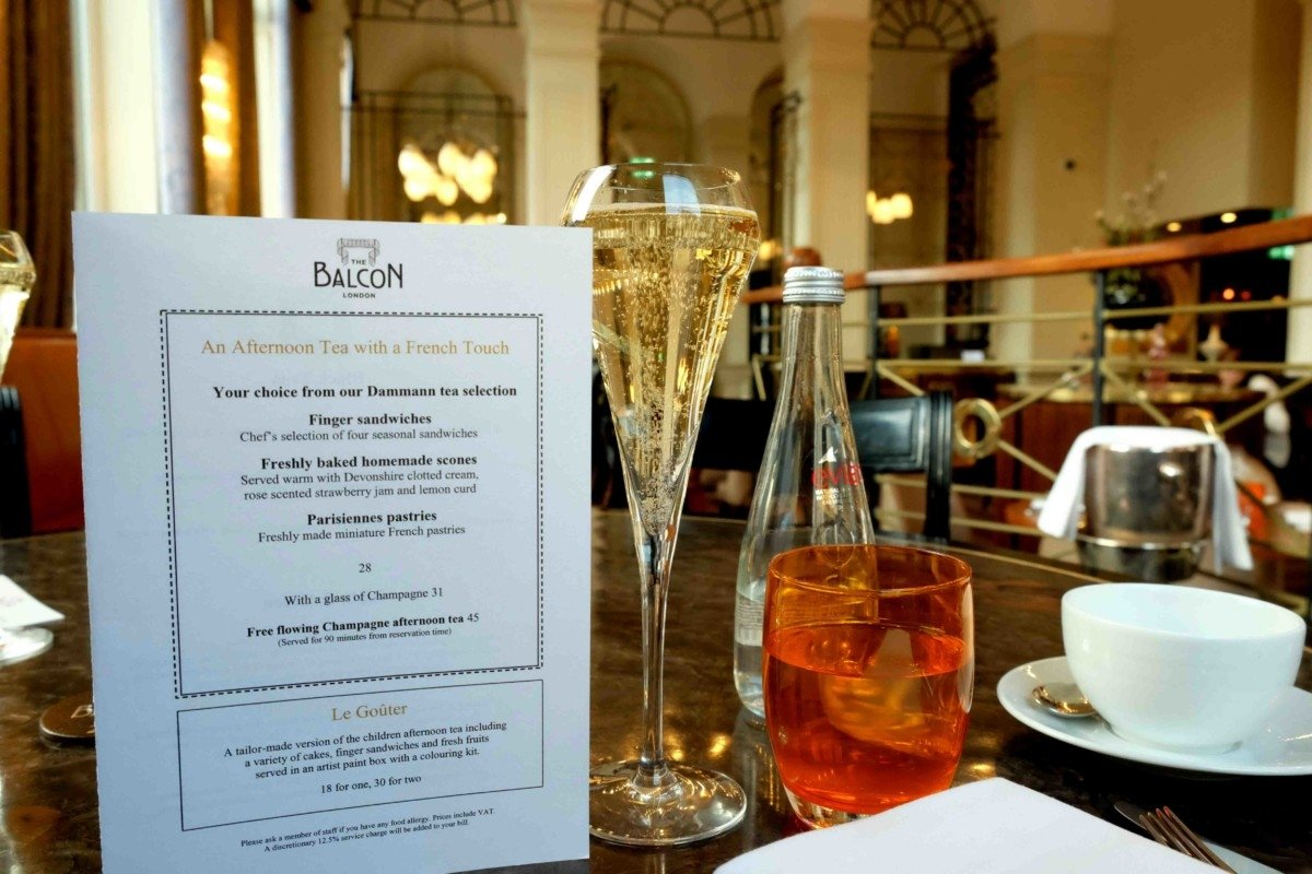 A Week of Champagne and Celebrations. the sofitel st james cream tea