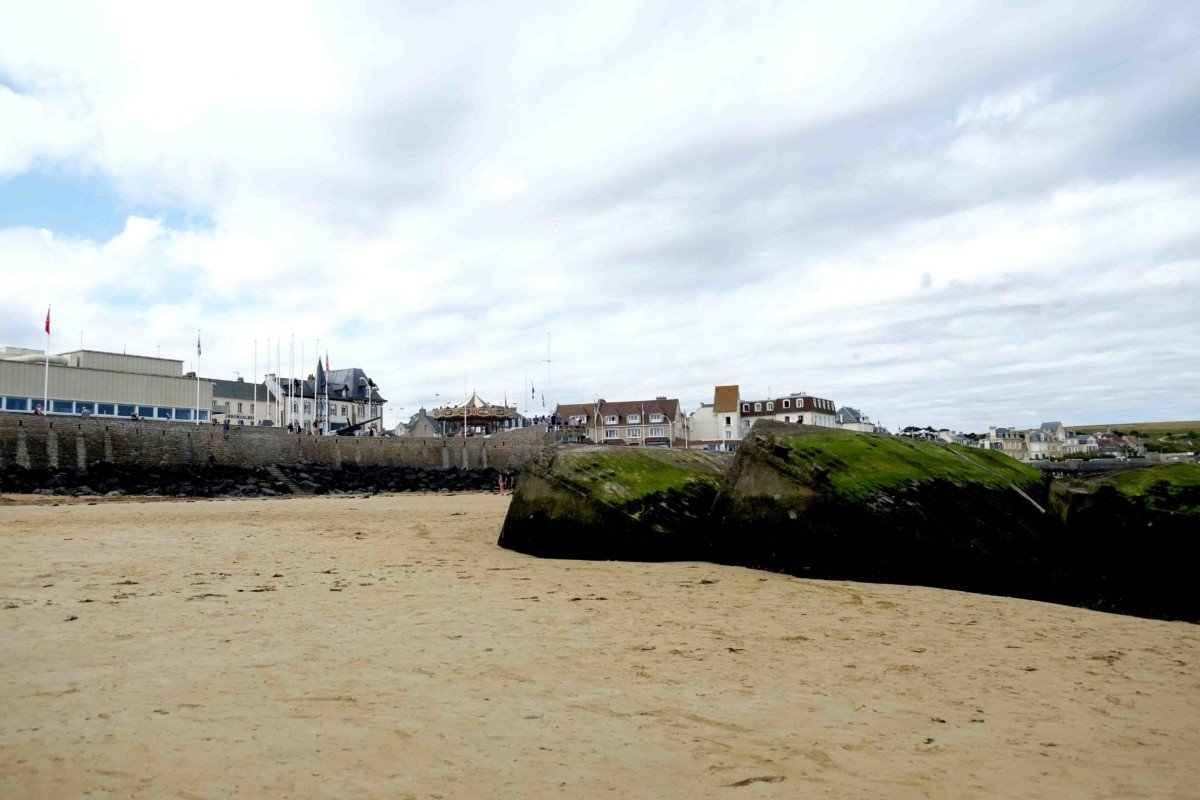 A week in Normandy Mulberry Harbour Arromanche