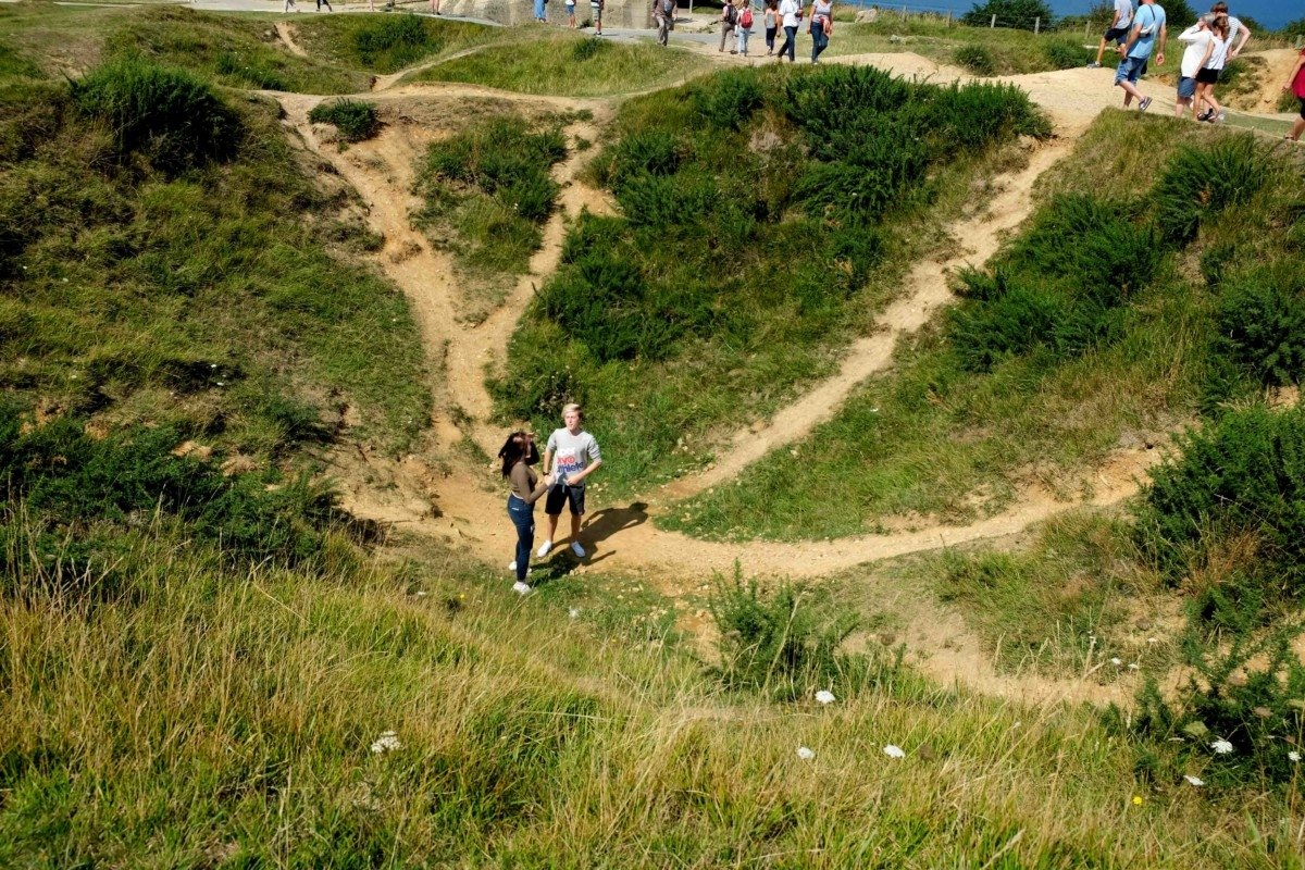 A week in Normandy Pointe Du Hoc
